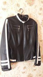Кожаная куртка-пиджак