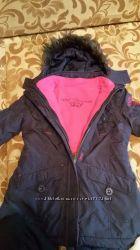 Куртка 128 размер  3в1 с сайта  C&A бу