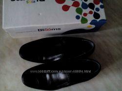 кожаные школьные туфли р. 34