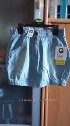 Юбка джинсовая YIGGA 134см летняя, 130грн