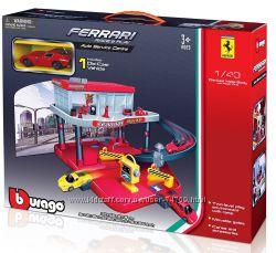 Игровой набор Bburago - Гараж FERRARI арт. 18-31231