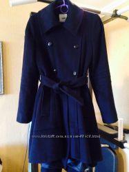 Стильное пальто шерсть пр-во Марокко UK10 EU 38