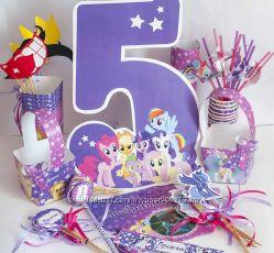 День рождения кенди-бар в стиле -- My Littel Pony --