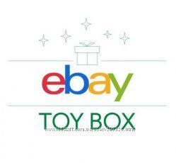 Покупка под 5 процентов игрушек с e-bay  Англия
