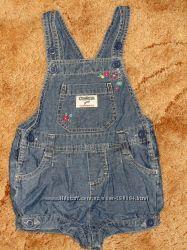 Продам джинсоый комбинезон-шорты OshKosh