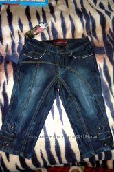 Продам теплые джинсовые бриджи на зиму