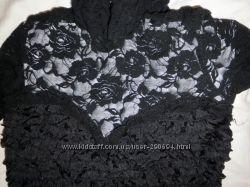 Черное нарядное платье к Новому году и не только
