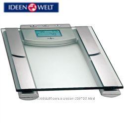 Весы диагностические, измерение веса, жира, воды, процента мышц и костей