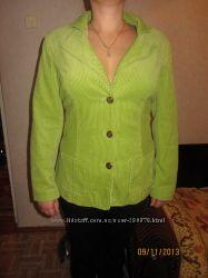 Новый вельветовый пиджак р. 50-52