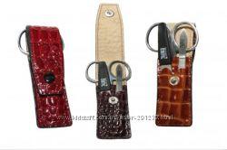 Дорожние маникюрные наборы, 2-3-4 инструмента в Коже
