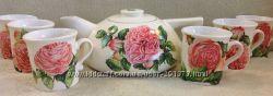 Чайный сервиз Розовое очарование