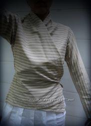 блуза на завязке Mango