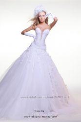 Свадебное платье Оксаны Мухи