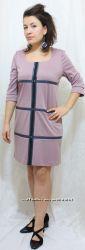 Стильные трикотажные платья, сарафаны, комплекты по доступным ценам
