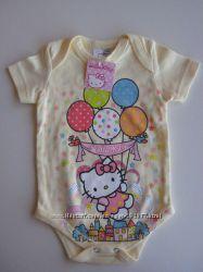 Бодик Hello Kitty, 6-12 месяцев, новый