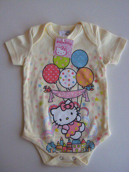 Бодик Hello Kitty, размер 6-12 месяцев, новый