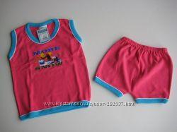Комплект майка и шорты SANJU, размер 2-3 года, новый