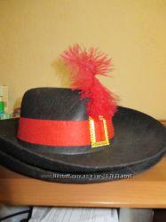 Костюм мушкетера, шляпа