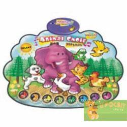 Коврик развивающий Animal Choir Playmat  zippy mat