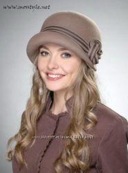Новая шляпка фирмы Helen Line фетровая  шоколадная    Крым