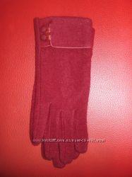 Недорогие шерстяные перчатки для женщин. Производитель Ugursapka, Турция.