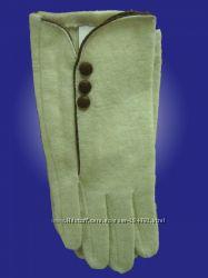 Шерстяные перчатки для женщин. Недорого. Производитель Ugursapka, Турция.
