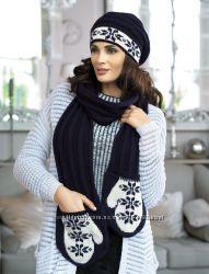 Очень красивые и теплые женские шарфики Kamea