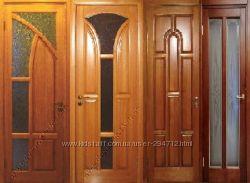 Двери и окна из натурального дерева