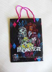 Пакет подарочный Monster High