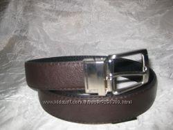 Ремни мужские кожаные двухсторонние, двухсторонний ремень