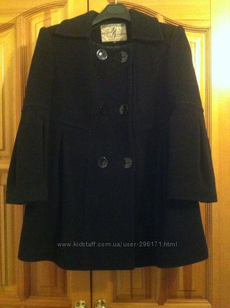 Пальто короткое шерстяное