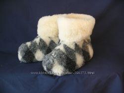 Чуни из овечьей шерсти