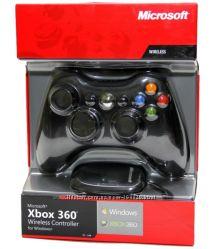 джойстики Мicrosoft к Xbox360 и Xbox One c ресивером и без