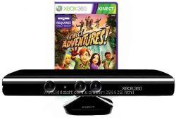 сенсор Kinect Xbox 360  игра Kinect Adventures