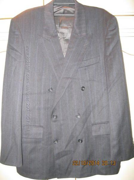 Пиджак мужской шерсть 54 размер