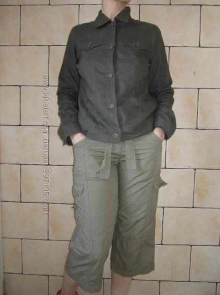 Куртка-пиджак льняная р-р 40