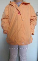 Куртка деми девичья с вышивкой