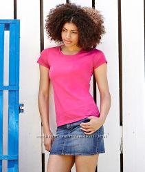 Женские футболки от мирового производителя ТМ Fruit of the Loom