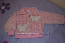 Меховая курточка для малышки