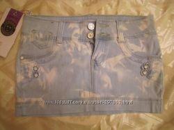 Юбка джинсовая. Новая . Размер 27.
