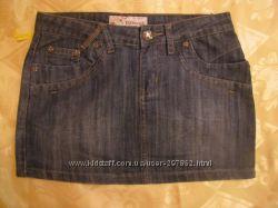 Юбка джинсовая. Новая . Размер 26