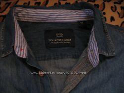 Продам джинсовую рубашку Скоч Сода