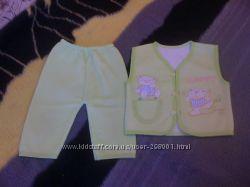 Тепленькие красивые костюмчики для деток В наличии