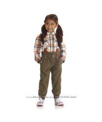 Модные брюки с подтяжками Mothercare на модняшек