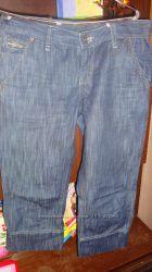 Бриджи джинсовые 31размер.