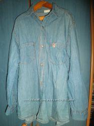 Джинсовая рубашка на подростка