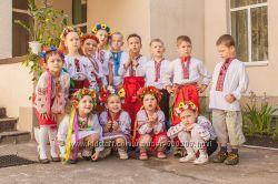 Национальный украинский костюм, вышиванка, украиночка, козак