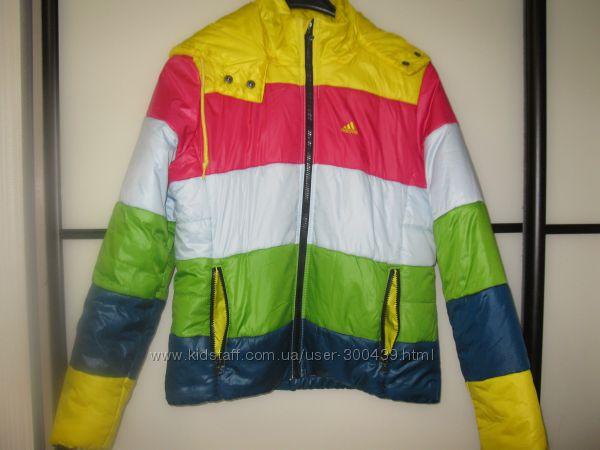 Куртка ADIDAS оригинал демисезонная очень яркая