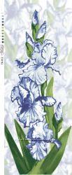 Схема на атласе под бисер цветы формат А-2