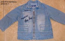 Джинсовый пиджак джентльмену